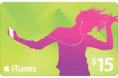 iTUNES GIFT CARD $15 USA scratch-off code - DISCOUNTS