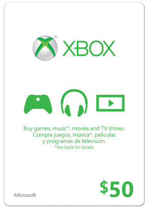XBOX LIVE GIFT CARD 50$ USA + 48h GOLD - SUPERDISCOUNTS