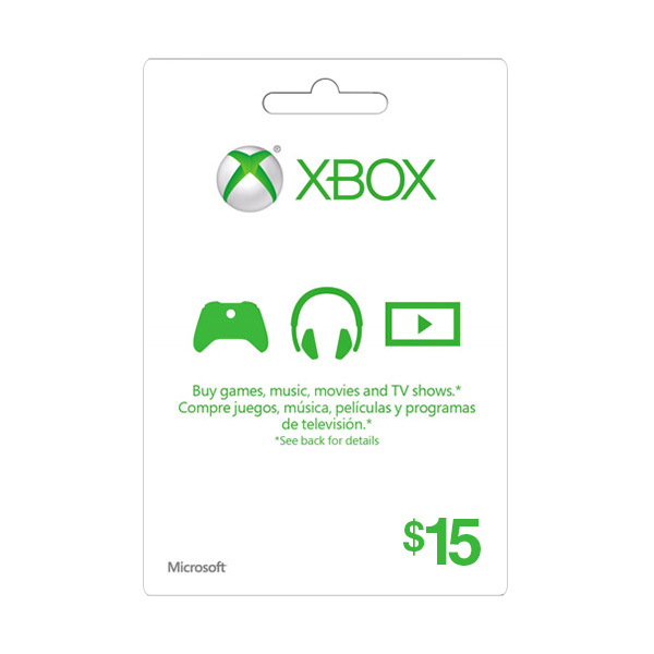 XBOX LIVE 15 USD GIFT CARD + 48h GOLD - SUPERDISCOUNTS