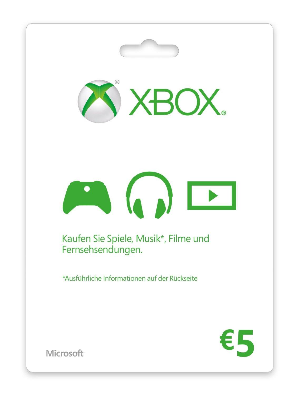 XBOX LIVE 5 EUR GIFT CARD  (EU) - Суперскидки