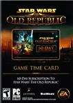 STAR WARS THE OLD REPUBLIC 60 days Prepaid Time Card