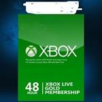 XBOX LIVE GOLD CARD 48 ЧАСОВ TRIAL x360&xOne - Скидки
