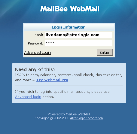 Buy Bee WebMail and download