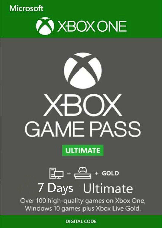 Фотография 🔥xbox game pass ultimate 7 дней region free+россия