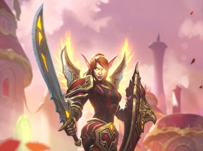 Hearthstone Lady Liadrin | Shaman Oracle | Hearthsteed