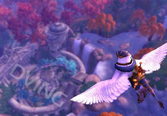 Flying in Legion