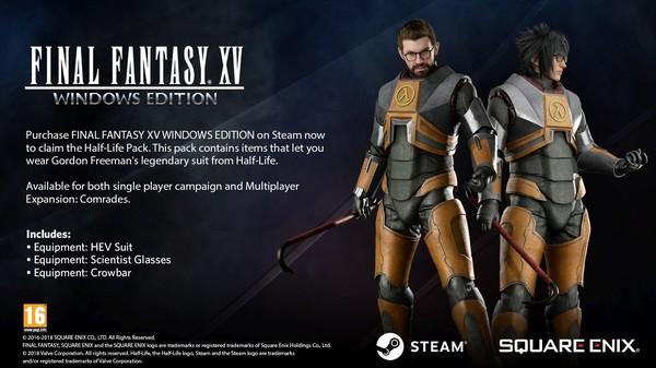 FINAL FANTASY XV WINDOWS EDITION | Steam Russia