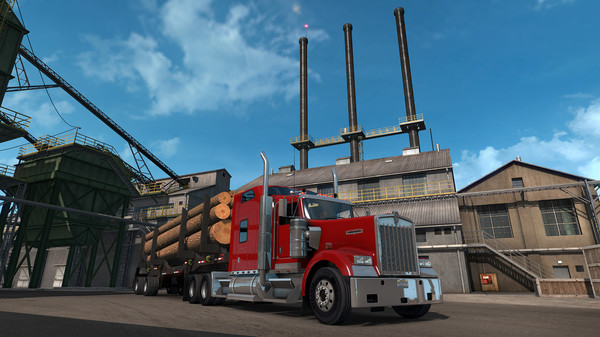 American Truck Simulator - Oregon | Steam Russia