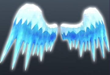Roblox: Exclusive Snow Covered Ice Wings Drop #6 🔴
