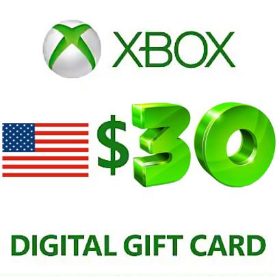 Xbox Live Gift Card $30 USD (USA) ➕ ИГРА