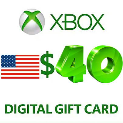 Xbox Live Gift Card $40 USD (USA) ➕ GAME