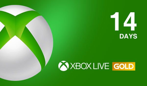 Xbox Live Gold + Xbox Game Pass Ultimate 14 Days +Month