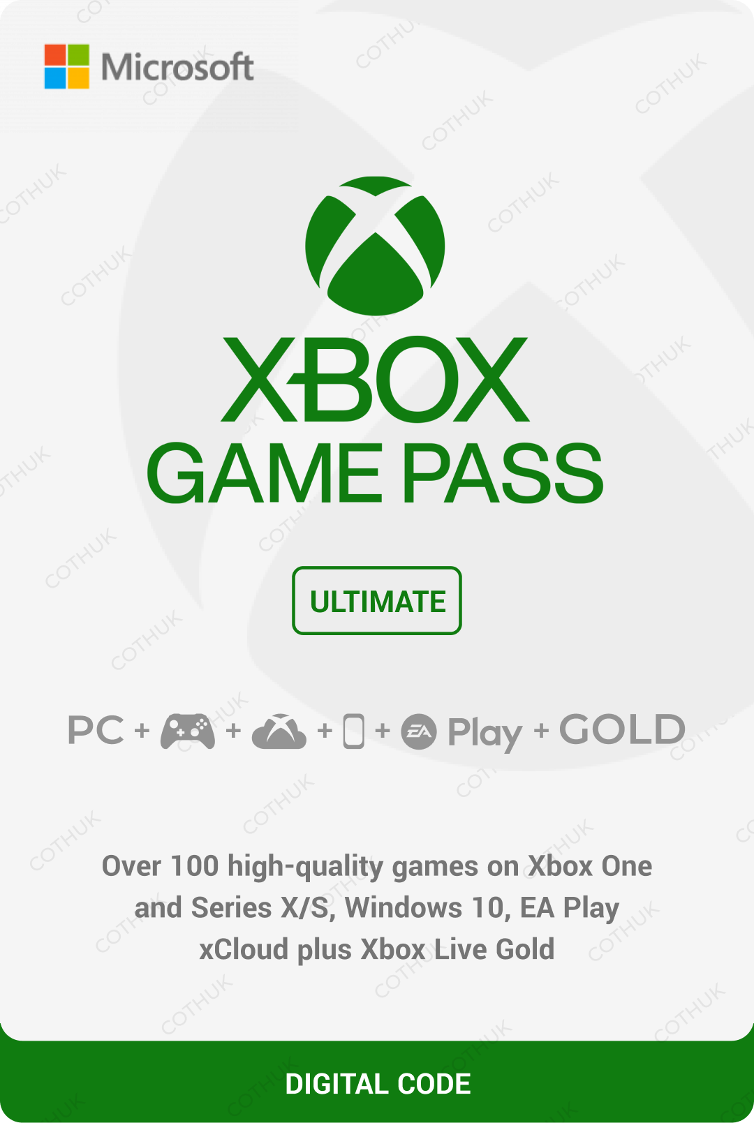 XBOX GAME PASS ULTIMATE 7 days + Region free + Renewal