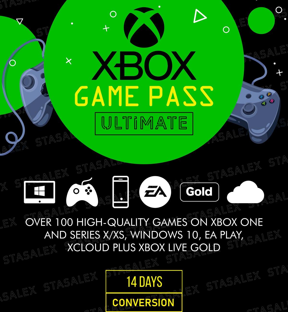 Фотография xbox game pass ultimate 14 дней🌎конвертация-продление