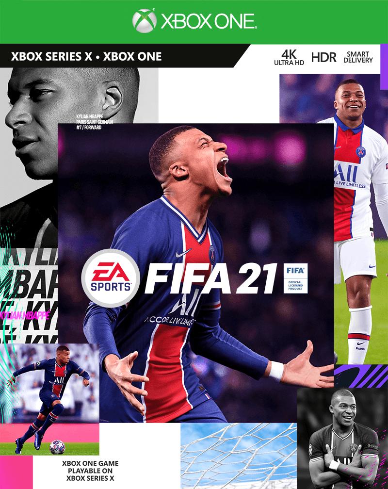 Купить FIFA 21 STANDART XBOX ONE & XBOX SERIES X|S ?КЛЮЧ и скачать