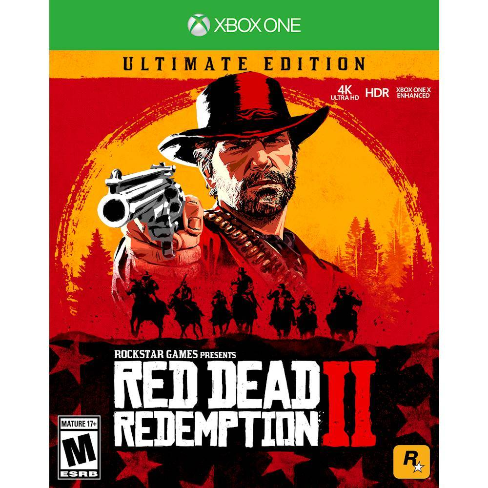 RED DEAD REDEMPTION 2 ULTIMATE XBOX ONE, SERIES X|S🔑