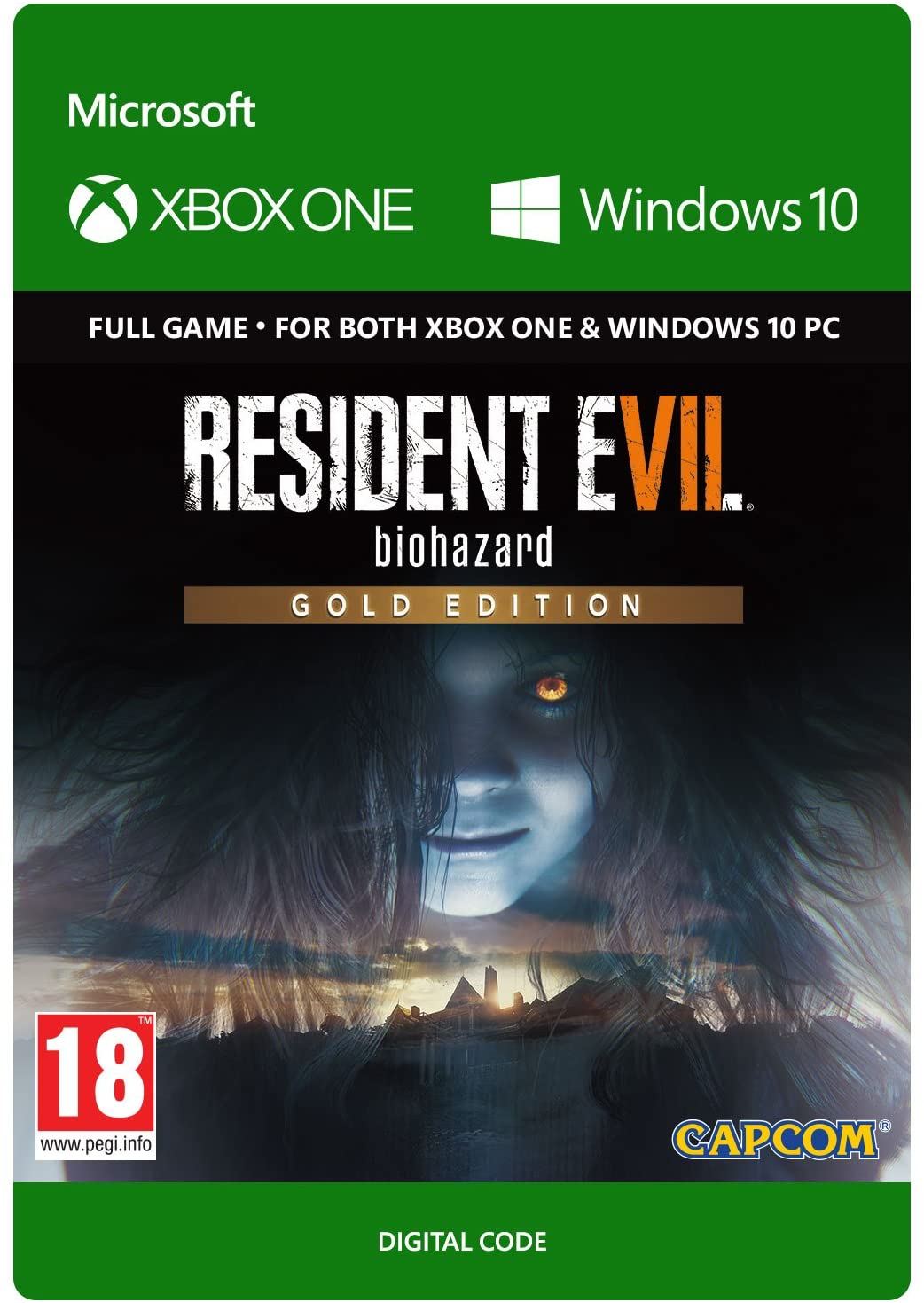 RESIDENT EVIL 7 GOLD EDITION XBOX ONE, X|S-WIN10 🔑КЛЮЧ