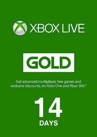 Фотография xbox live gold 14 дней | xbox one, series x|s🌎