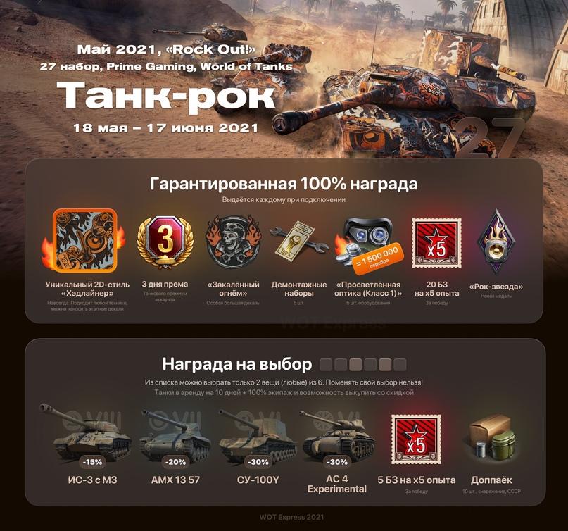 Фотография 27 набор «танк-рок» twitch prime