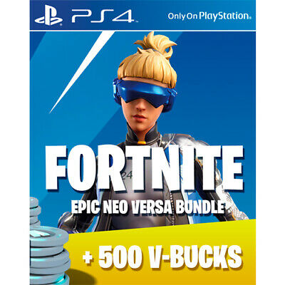 PS4 Fortnite: Epic Neo Versa Skin + 500 VBucks