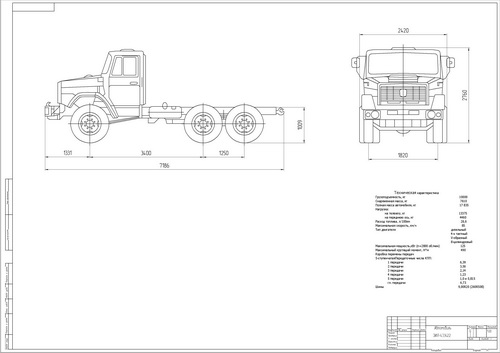 Drawing ZIL - 433422