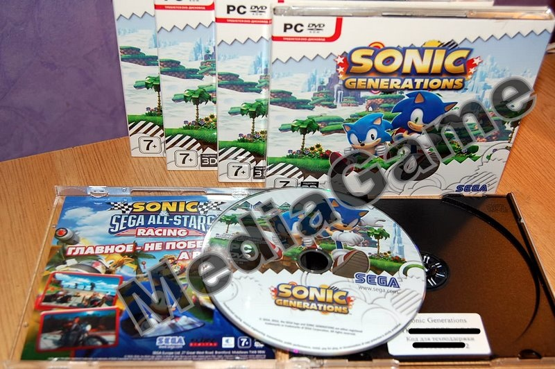 Sonic Generations. Nostalgia Edition (steam) + ПОДАРОК