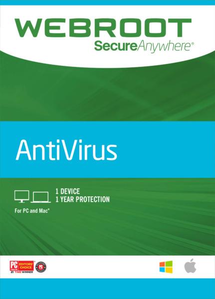 Фотография webroot secureanywhere antivirus ключ 1 год /1 пк