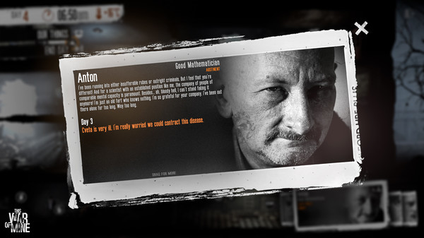 This War of Mine Steam gift (RU/CIS) + БОНУС