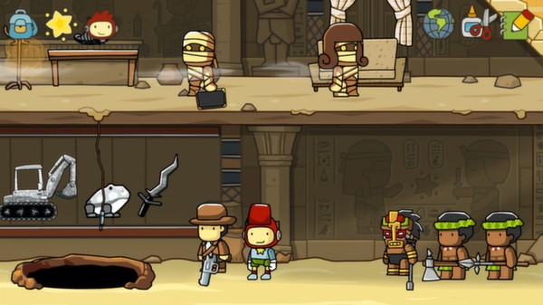 Scribblenauts Unlimited Steam gift (RU/CIS) + БОНУС