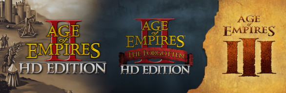 Age of Empires Legacy Bundle (4 in 1) Steam Gift RU/CIS