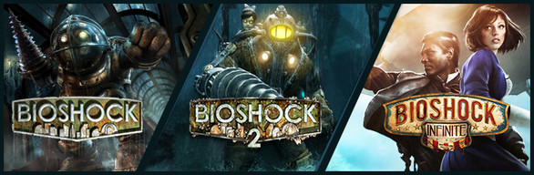 BioShock Triple Pack (3 в 1) Steam Gift (RU/CIS)
