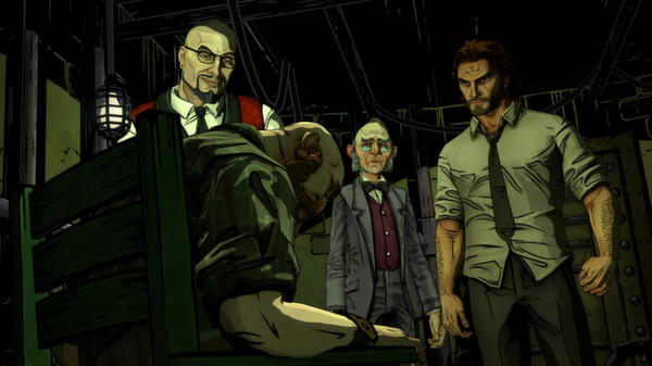 The Wolf Among Us Steam Gift (RU/CIS) + БОНУС