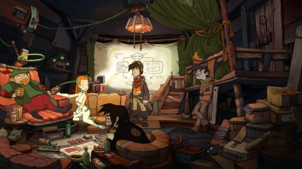 Chaos on Deponia Steam Gift (RU/CIS)