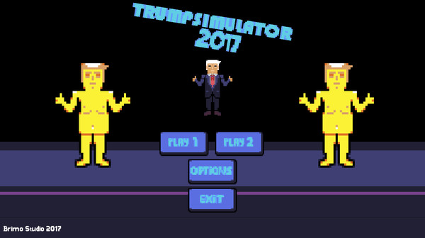 Trump Simulator 2017 Steam ключ (Steam key, ROW)