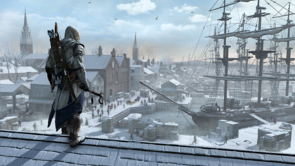Assassin's Creed 3 III Standard Steam gift (RU/CIS)