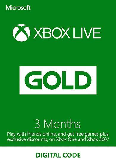 Xbox Live Gold 3 months Xbox Live Key USA