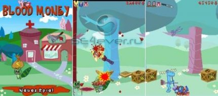 Happy Tree Friends: Blood Money for Sony Ericsson