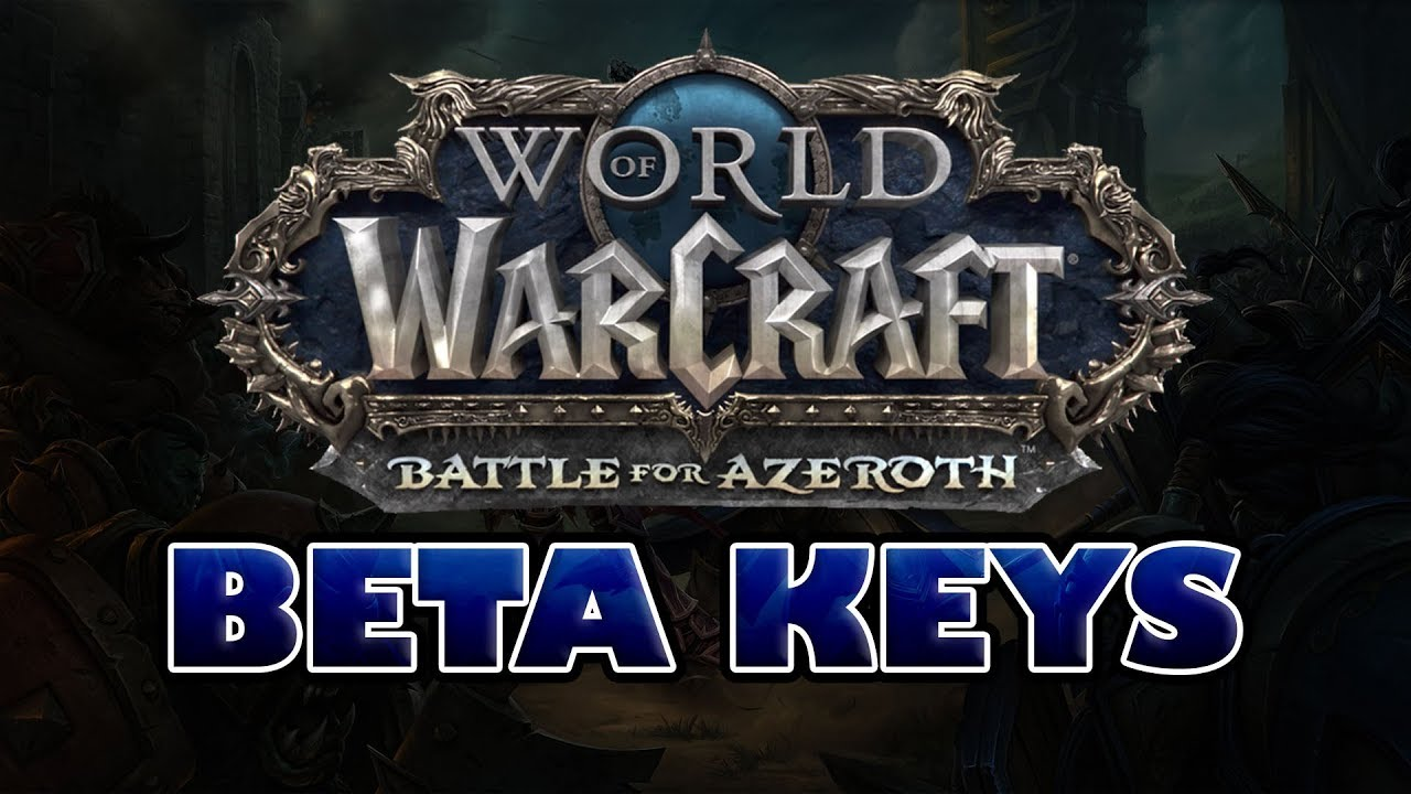 WoW: Battle for Azeroth BETA KEY BFA - Region Free