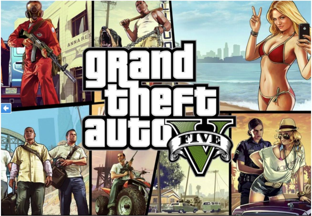 Фотография grand theft auto v gta 5 premium epic games почта