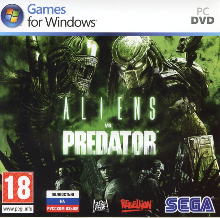 Aliens vs Predator (CD key / Steam / Region Free/ СКАН)