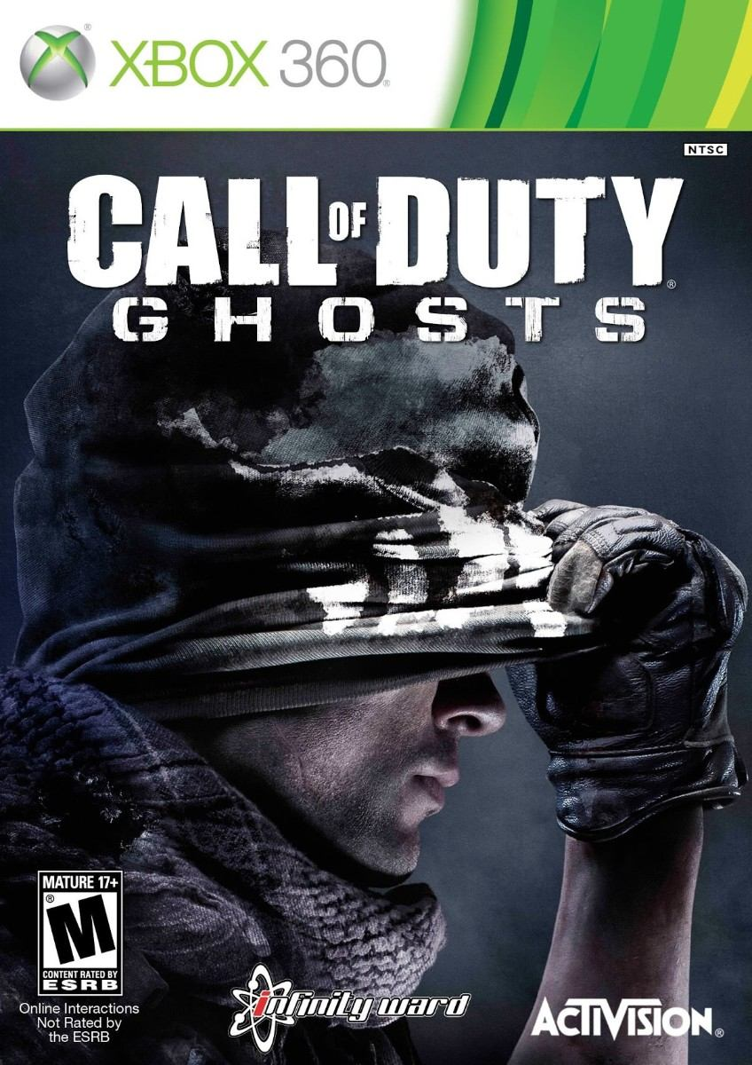 Call Of Duty Ghosts rus (xbox 360)