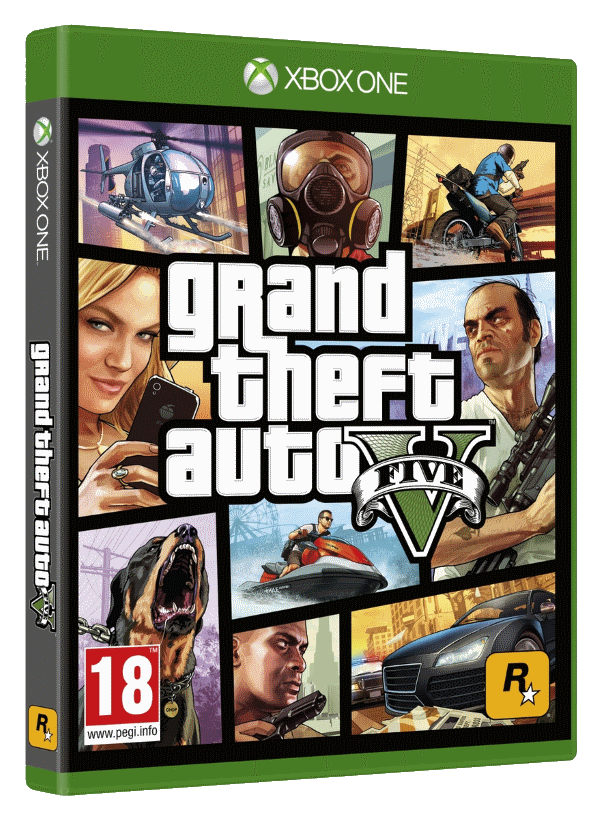 GTA V + other games (Xbox One) | RENT