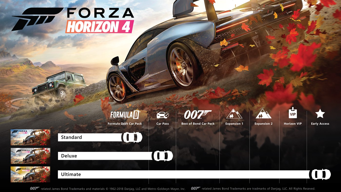 Xbox One FORZA HORIZON Код 4 / Ultimate edition of Win