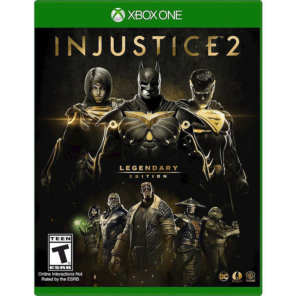 MORTAL KOMBAT 11 ULTIMATE+INJUSTICE 2 LEG.EDITION🔑XBOX