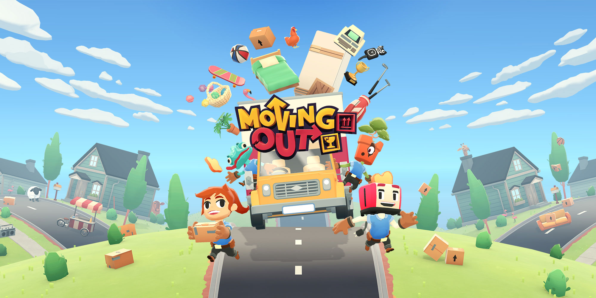 🔥Moving Out STEAM KEY | Region Free | GLOBAL
