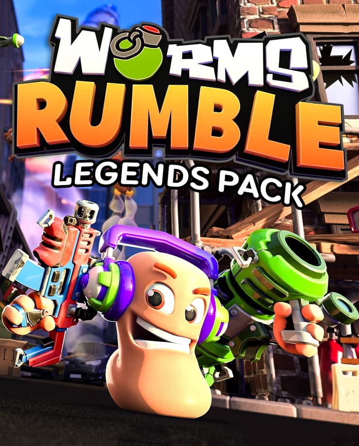 🔥Worms Rumble - Legends Pack DLC STEAM KEY | GLOBAL