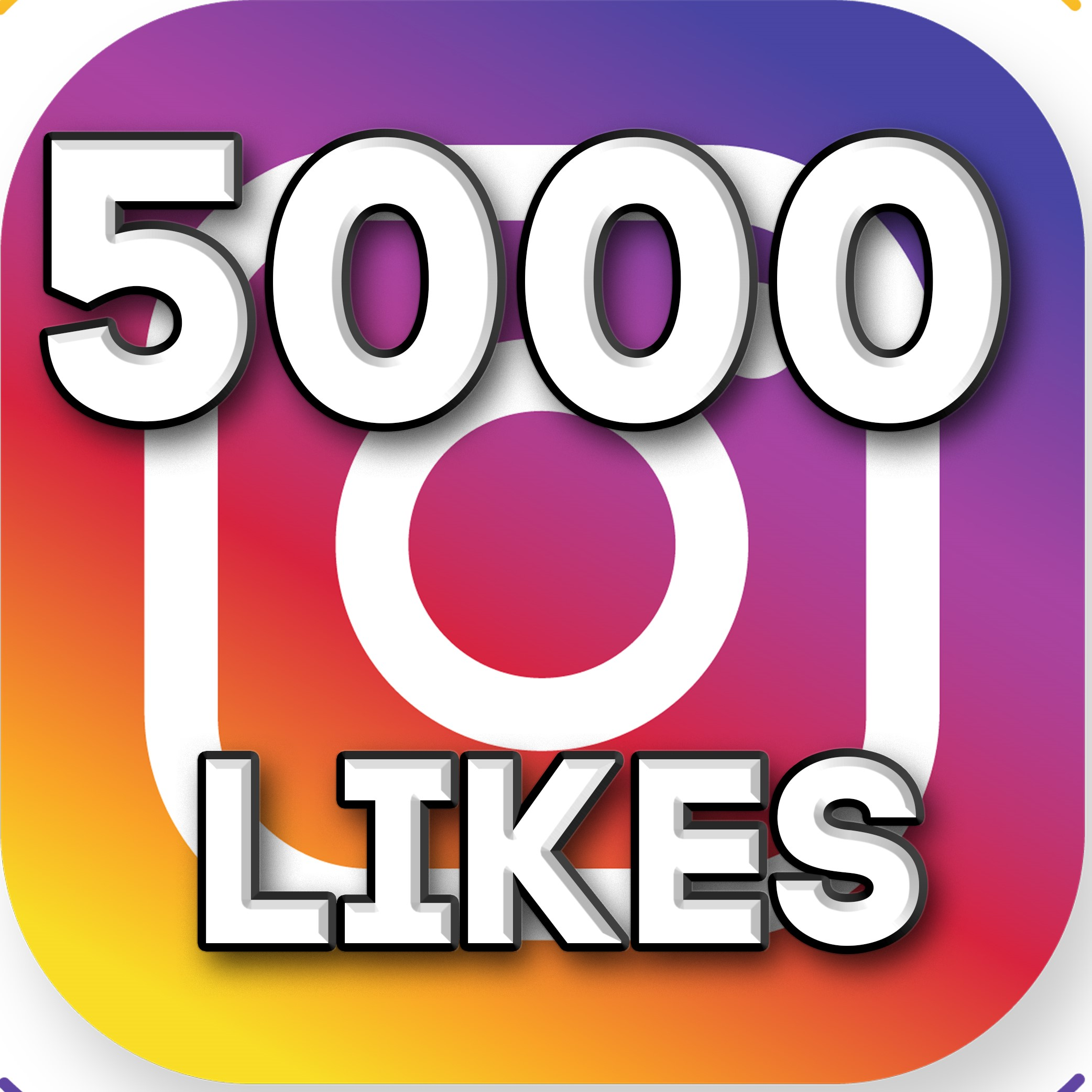✅5 000 Instagram likes | 5000 for 6$