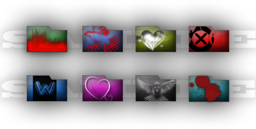 Sources folder icons for Photoshop