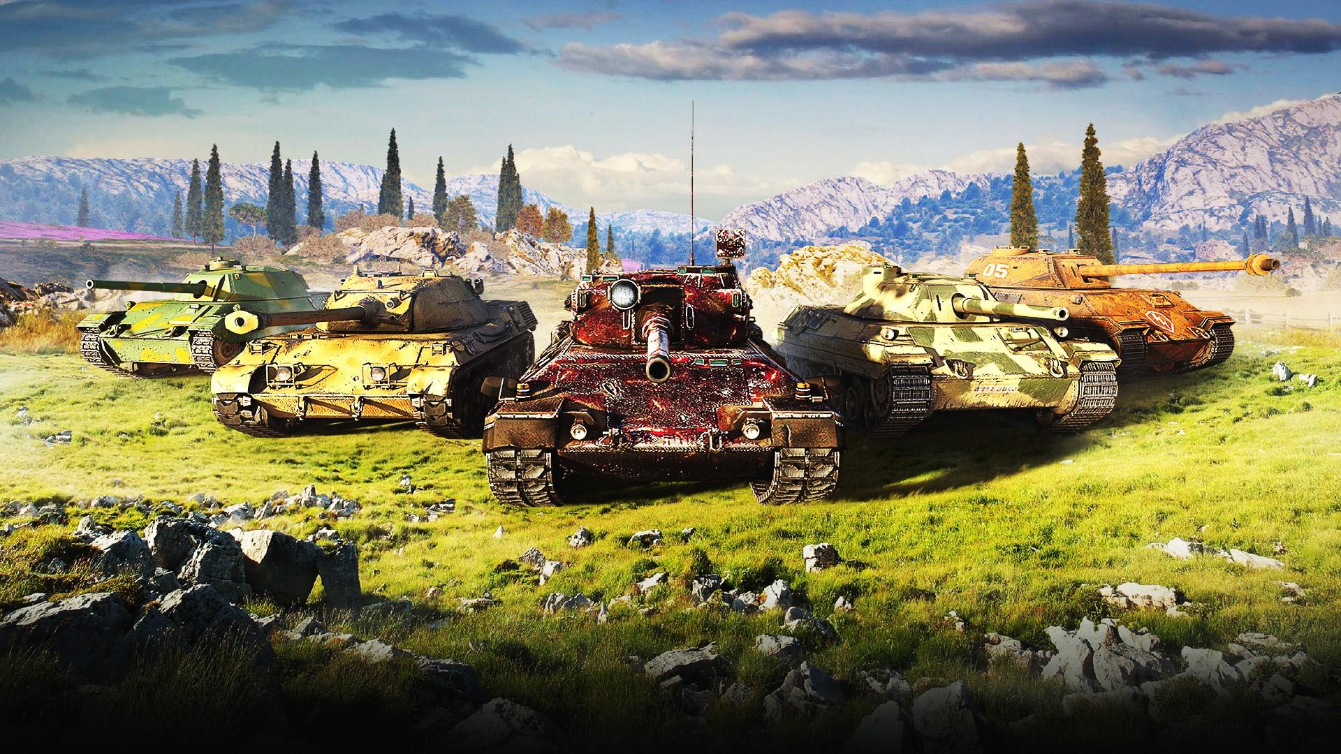 WoT [10 lvl танки]+подарок+бонус