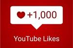 1.000 живых лайков YouTube+подарок